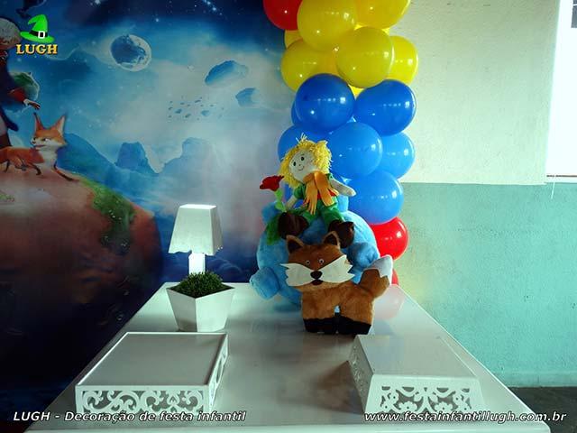 Decoração de mesa infantil O Pequeno Príncipe