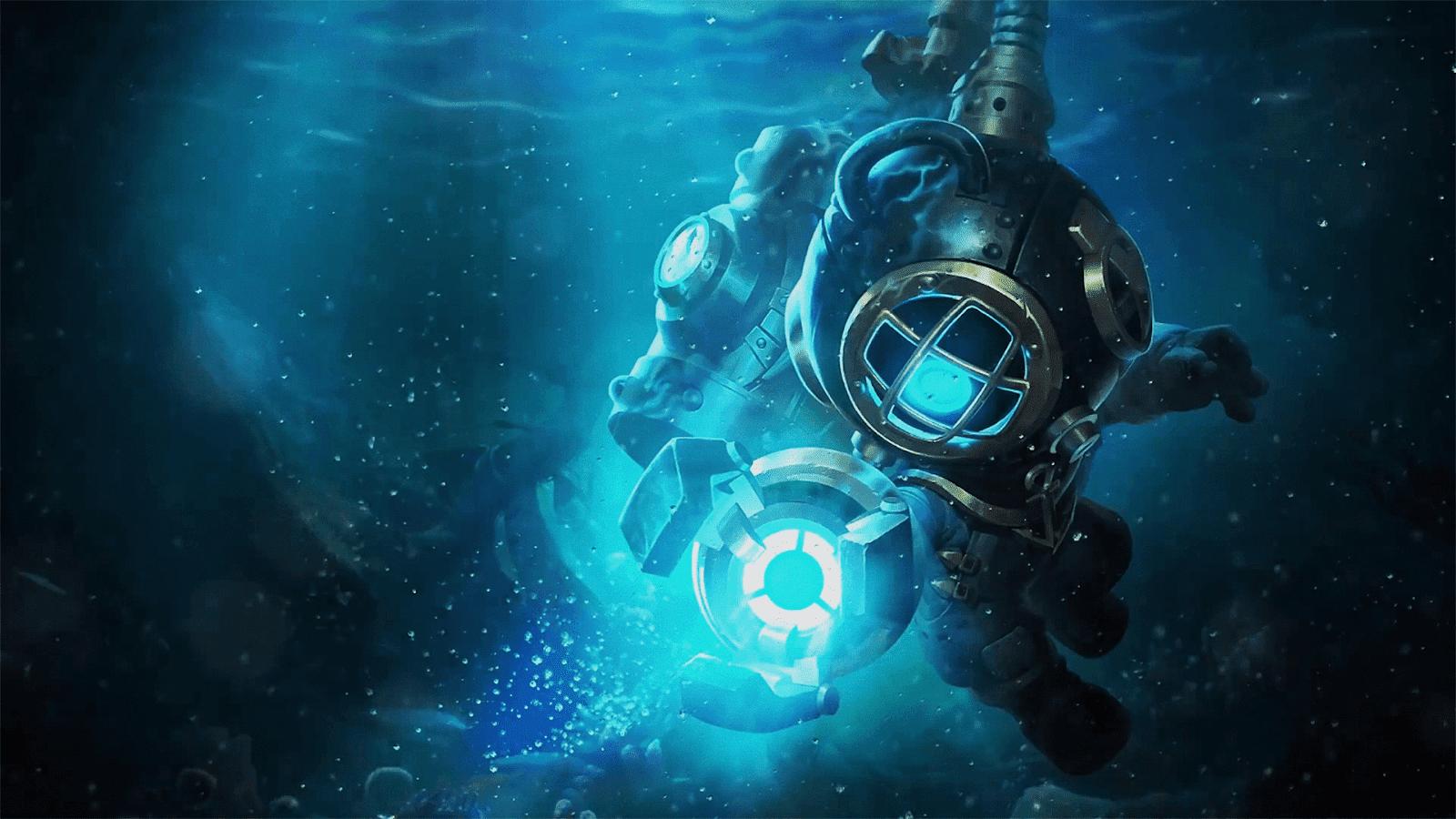 Wallpaper Cyclops Deep Sea Rescue Skin Mobile Legends HD for PC
