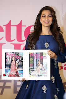 Bollywood Actress Juhi Chawla Launchs Better Homes 10th Anniversary Celetion Cover  0011.JPG