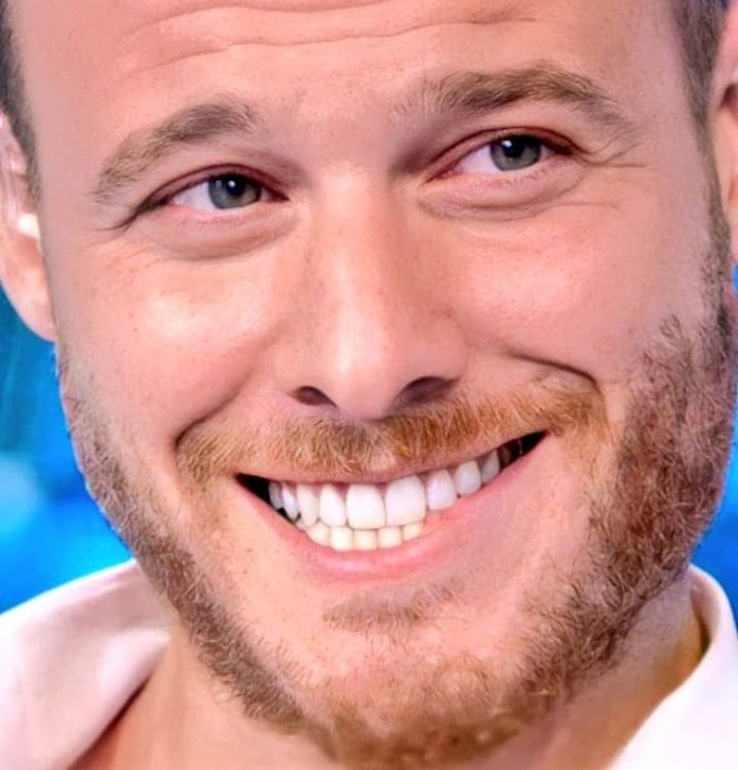 """Kerem Bürsin and his bouquet of flowers for Hande Erçel: """"We don't do things to show it, that's why we are so happy""""."""