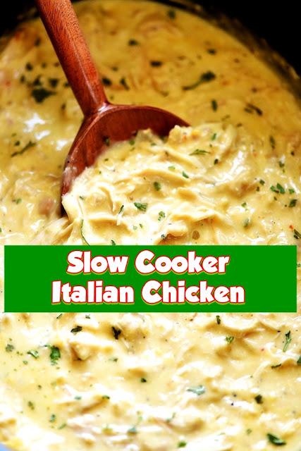 #Slow #Cooker #Italian #Chicken