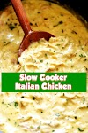 #Slow #Cooker #Italian #Chicken