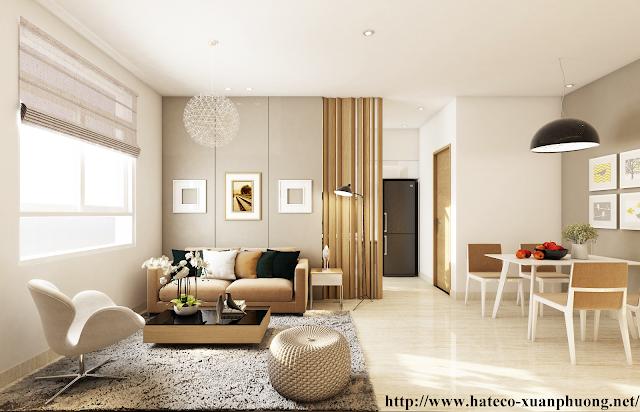 Thiết kế căn hộ Hateco Xuân Phương