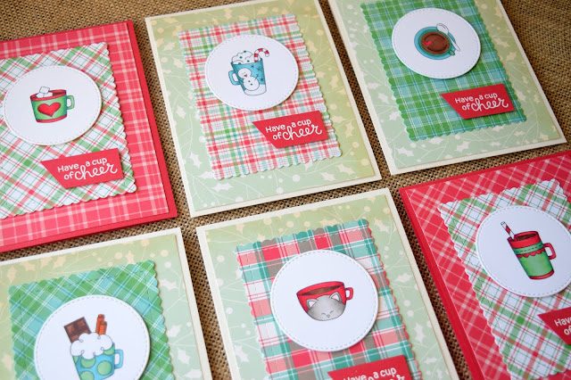 Newton's Nook Designs Cup of Cocoa Cards by Jess Crafts