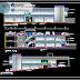 مخطط مشروع سوق صغير مع موقف سيارات فوق السطح اوتوكاد dwg