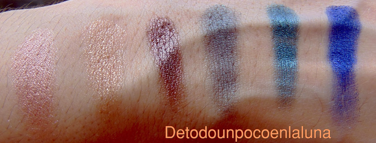 swatches Paleta Arabian Nights de sleek