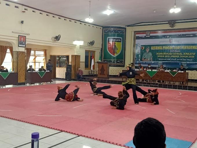 Festival Pencak Silat  Kodim 0824 Sebelas Perguruan Ikut Partisipasi, Ikuti Protokol Covid -19
