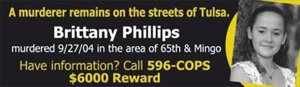 Brittany Phillips Murder: THE MURDER