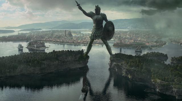 El Titan de Braavos, emplazamiento donde se encuentra Arya Stark