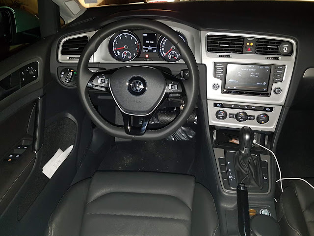 VW Golf 1.6 Automático 2016 Flex- interior