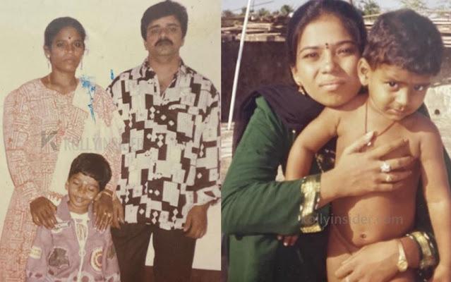 Bigg Boss Balaji Childhood parents