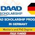 Bourse DAAD 2022-2023 – Formulaire de candidature et Constitution du dossier.