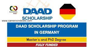 Bourse DAAD 2021-2022 – Formulaire de candidature et Constitution du dossier.