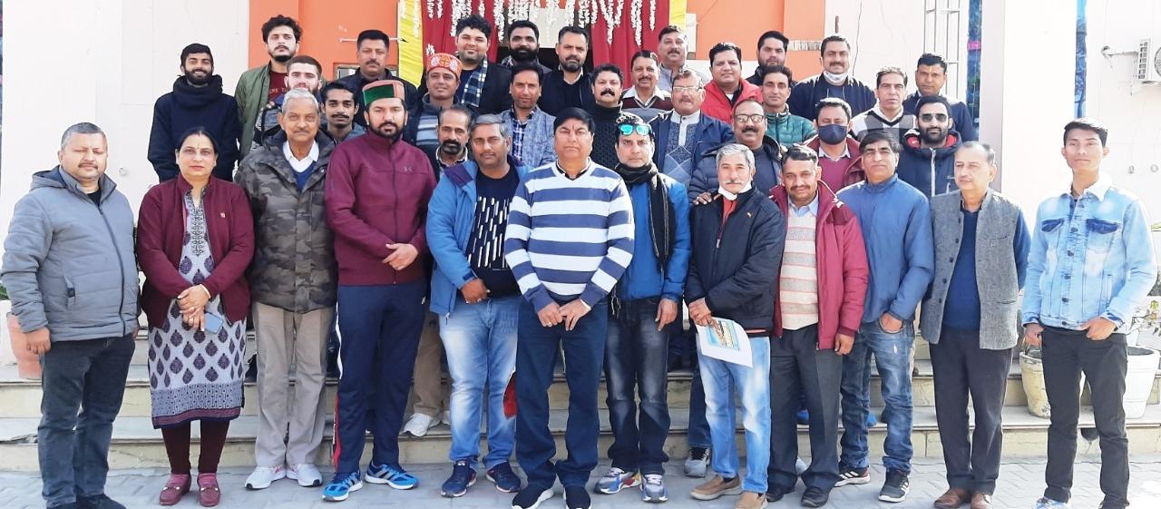 हिमाचल प्रदेश फुटबॉल संघ का वार्षिक खेल केलेंडर जारी