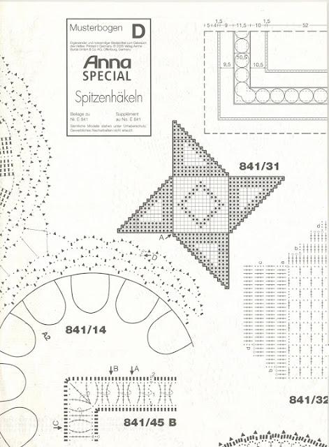 Diagrammes gratuits napperons