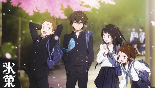 Hyouka BD [1-22] Batch Subtitle Indonesia + 1 OVA