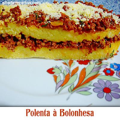 Polenta à Bolonhesa