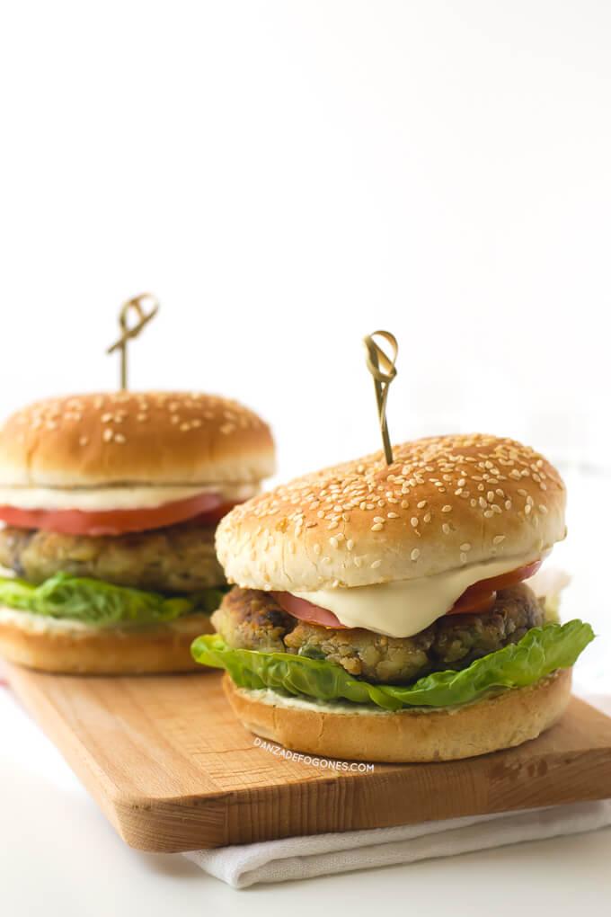 Vegan Burgers | danceofstoves.com