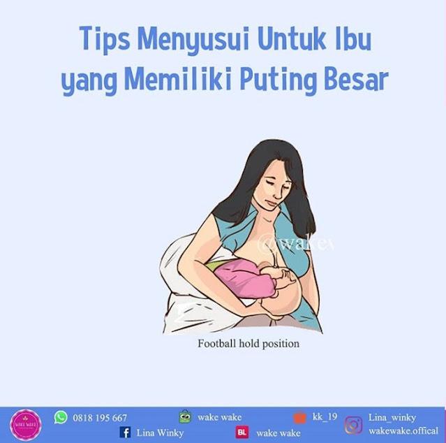 Tips Menyusui Untuk Ibu Yang Memiliki Puting Besar