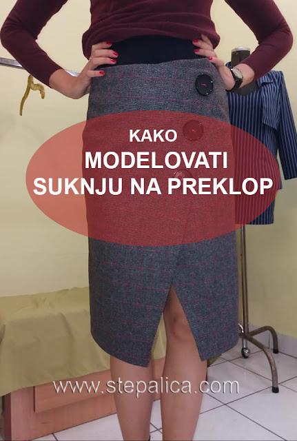 Modelovanje suknje na preklop