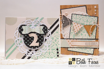 Minty Lace Magic with Beth