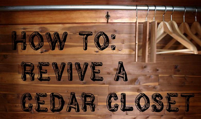 How to revive a cedar closet via Meet Me in Philadelphia