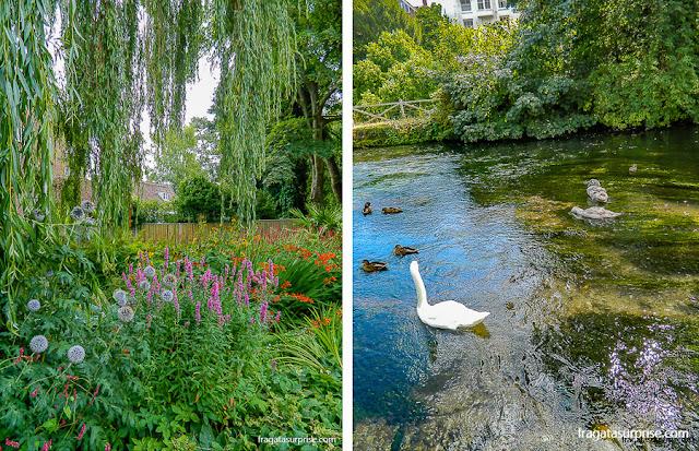 River Walk, parque em Winchester, Inglarerra