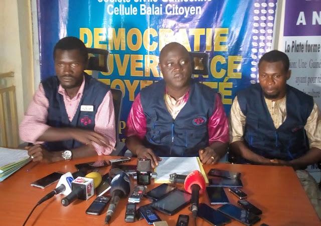 Guinée: Crise à la cour constitutionnelle, la cellule balai citoyen envisage des séries de manifestation dans les cinq communes de la capitale
