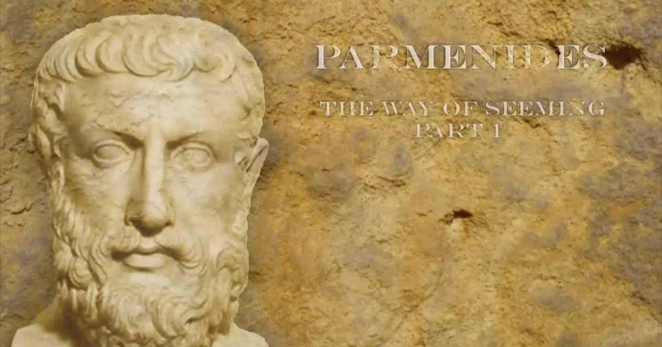 a comparison of heraclitus and parmenides schools of thought Here are ten of best pre-socratic philosophers parmenides was respected in his own time as a teacher and appears to have authored heraclitus, also.