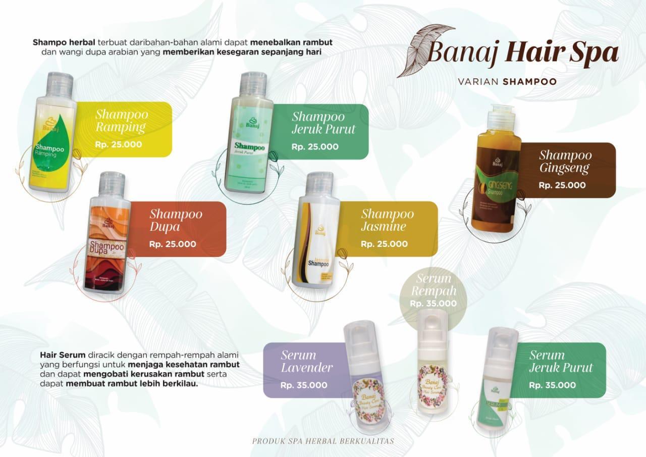 Banaj Hair Spa Varian Shampoo