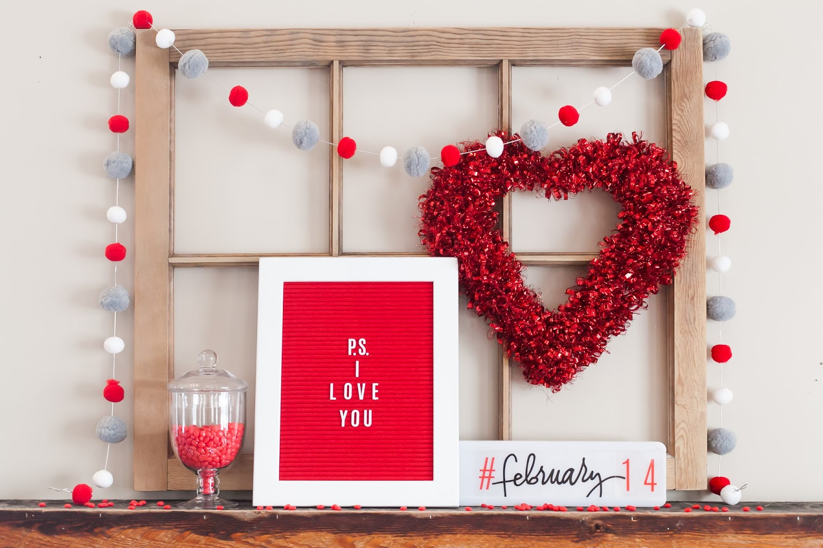 P S I Love You I Letterboard Simple Reflections Of My Everyday