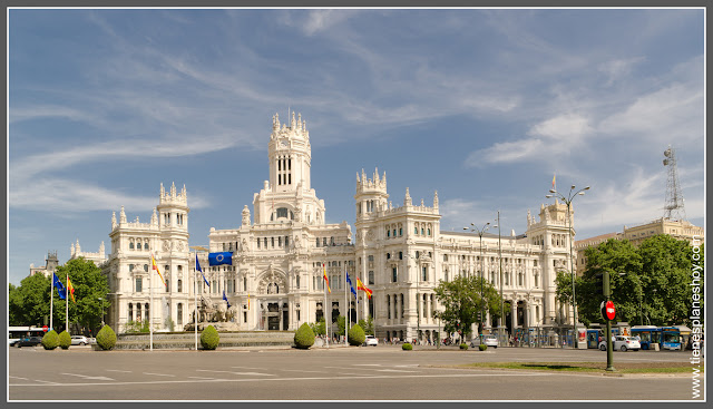 Palacio de Comunicaciones Cibeles Madrid