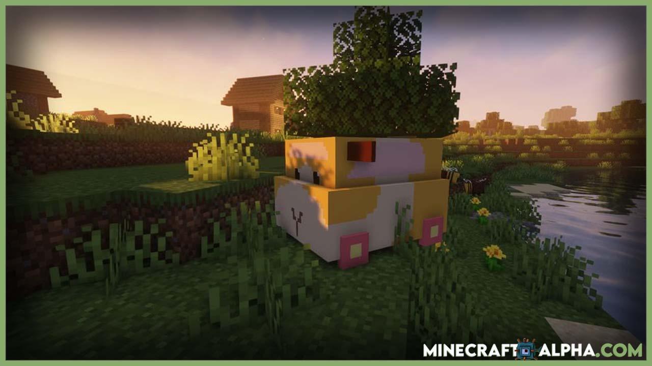 Minecraft Molcar Mod For 1.16.5 (Vehicle, Cartoon)