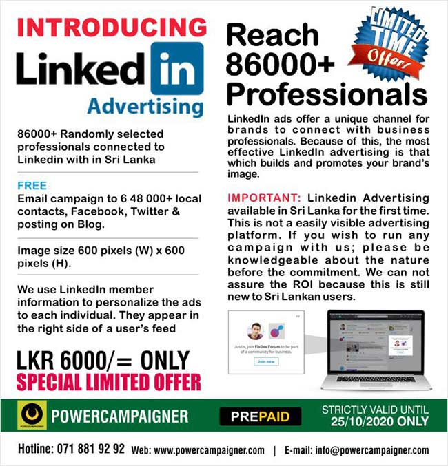 Introducing Linkedin Advertising | Reach 86000+ Professionals
