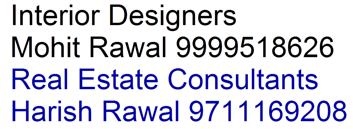 Elite Edifice By Rawals Interior Design In Netaji Subhash Place
