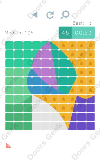 Cheats, Walkthrough for Blocks and Shapes Medium Level 125
