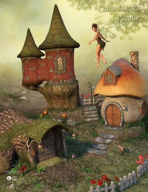 DM's Fairy Homes Bundle - download now...