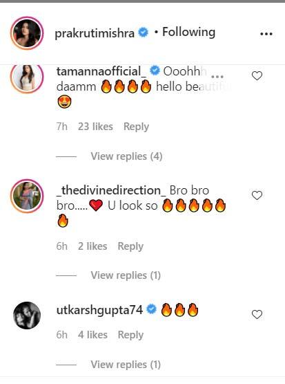 Tamanna Vyas and Others React