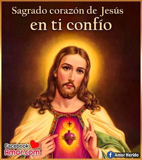 sagrado de corazón de Jesús