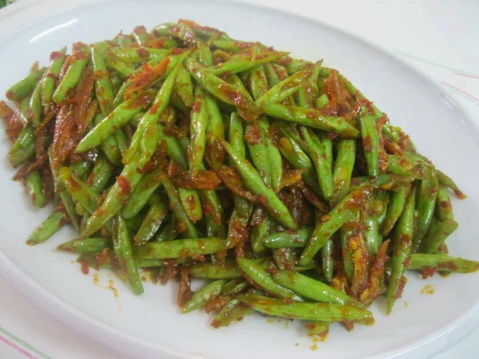resepi kacang buncis