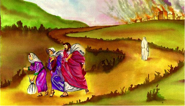 Lección 7 Destruccion De Sodoma Y Gomorra Historias Biblicas Para Niños