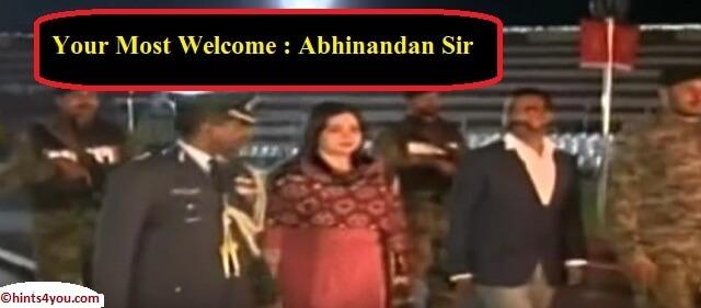 Abhinandan Varthaman Returns: