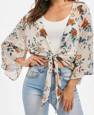 shirt, layer, floral, cvjetni uzorak, print, summer, spring, ljeto, odjeća, clothes, affordable, online shopping, dresslily