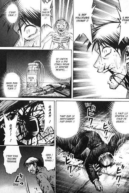 page de Higanjima T33 l'île des vampires par Koji Matsumoto chez Soleil manga
