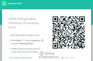 Login Melalui Whatsapp Web