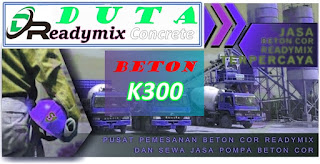 Harga Readymix K300