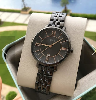 Fossil Es3614 Jacqueline Black Dial Ladies Casual Watch