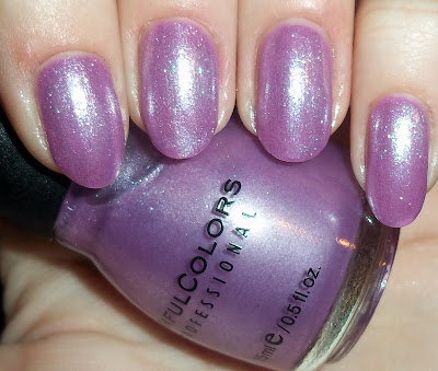 Giveaway Reminder & Sinful Colors - Purple Diamond