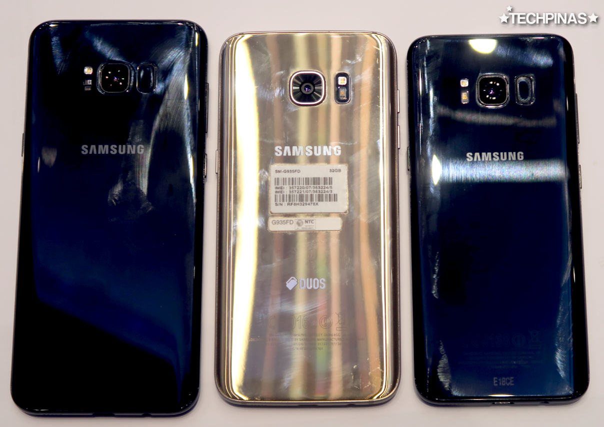 Samsung Galaxy S8 Plus vs Samsung Galaxy S7 Edge vs Samsung Galaxy S8