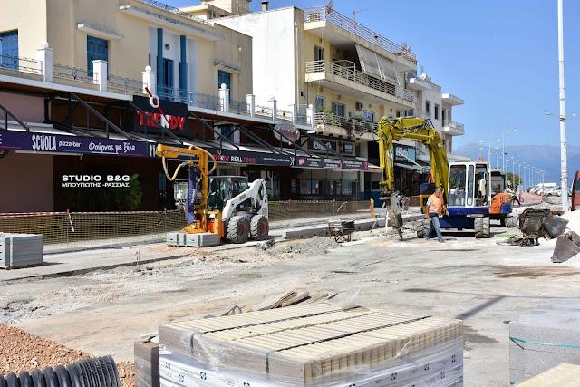 Κυκλοφοριακές ρυθμίσεις στο λιμάνι του Ναυπλίου λόγω των εργασιών του κόμβου